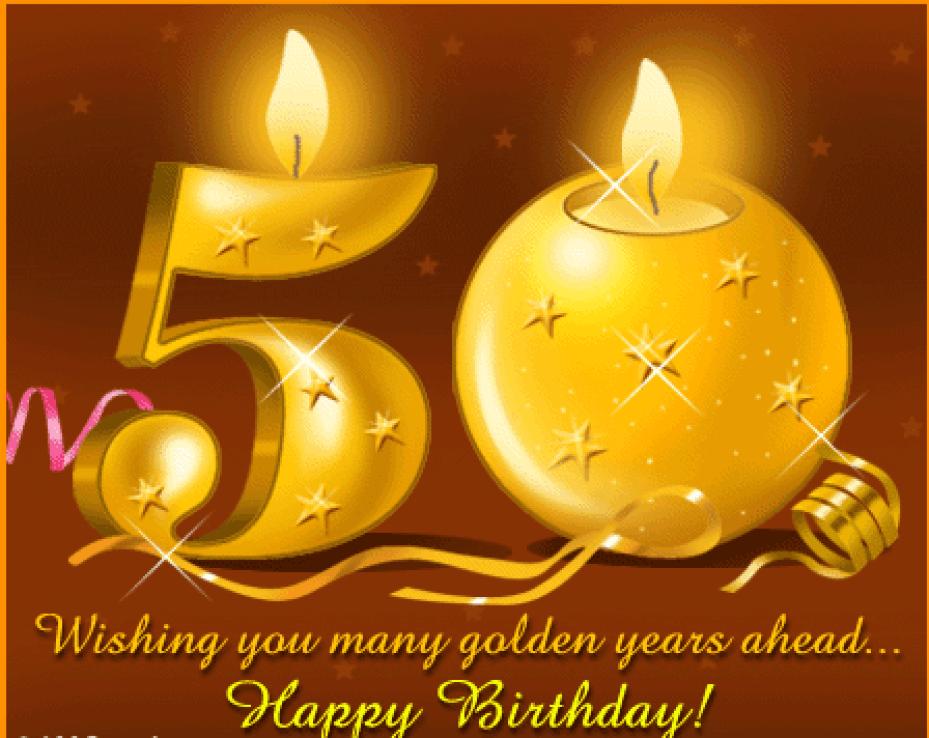 Best 50th Birthday Wishes - Birthday Wishes Zone