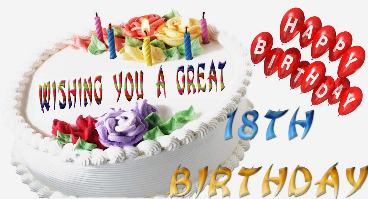 Nice And Cute 18th Birthday Wishes 2016 Birthday Wishes Zone Happy 18th Birthday Wishes For