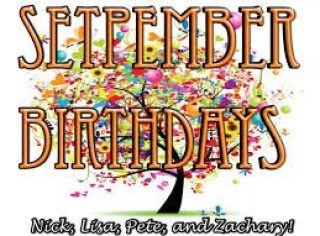 September Birthday Wishes