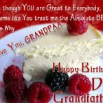Latest Birthday Wishes For Grandpa