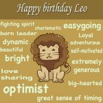 40+Leo Birthday Wishes And Greetings