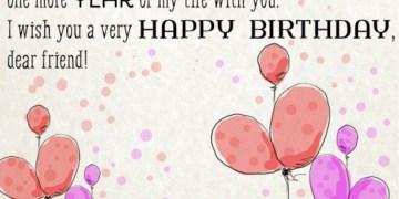Birthday Wish For Friend