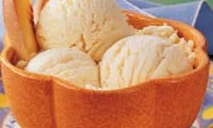Georgia Peach Homemade Ice Cream