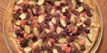Beef Souvlaki Pizza