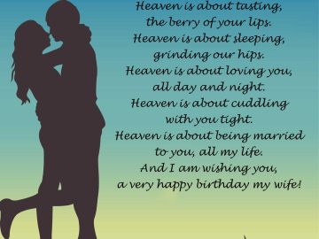 Wife Birthday Poem