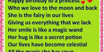 Happy Birthday To A Princess