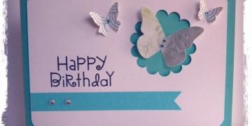 Handmade Happy Birthday Card Ideas