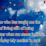 47 Happy Birthday Mother in Law Quotes