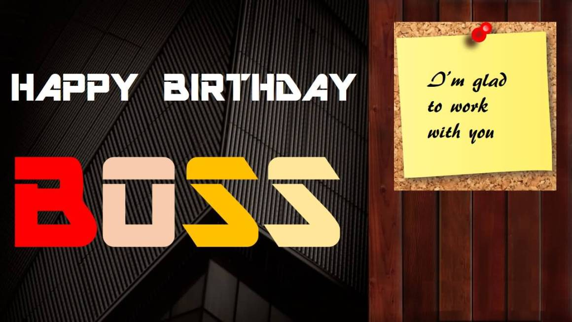 Unique birthday wishes for boss boss birthday wishes show your boss some special appreciation at the office with a cake and a card from everyone add one of these special greetings to let him know you really m4hsunfo Gallery