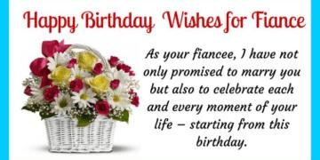 Fiance Birthday Wishes