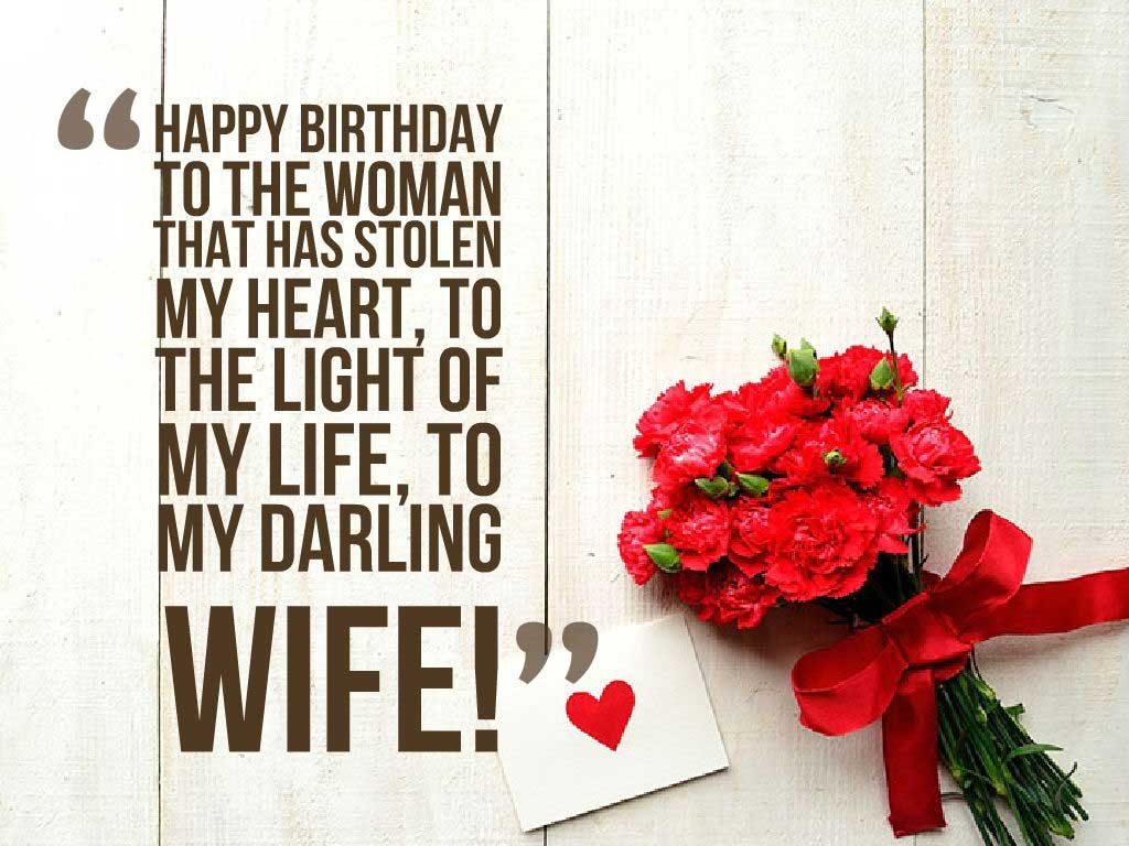 Romantic Birthday Messages for your Wife Wife Birthday Wishes – Happy Birthday to My Wife Greeting Cards
