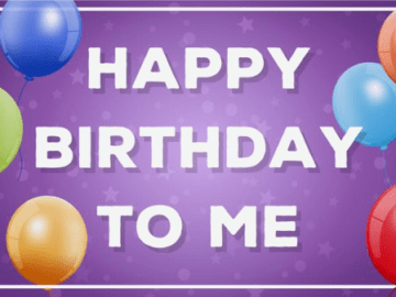 Birthday Wishes for Myself