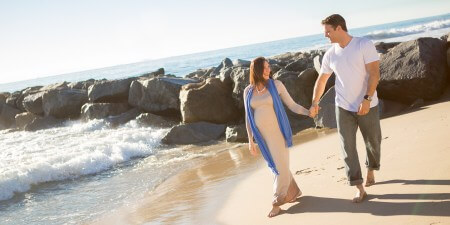 HypnoBirthing Pregnant Couple