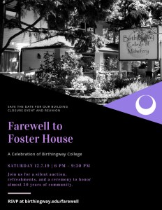Farewell to Foster Flyer