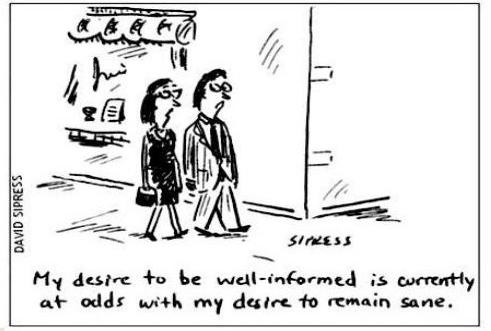 Cartoonist David Sipress Cognitive Dissonance