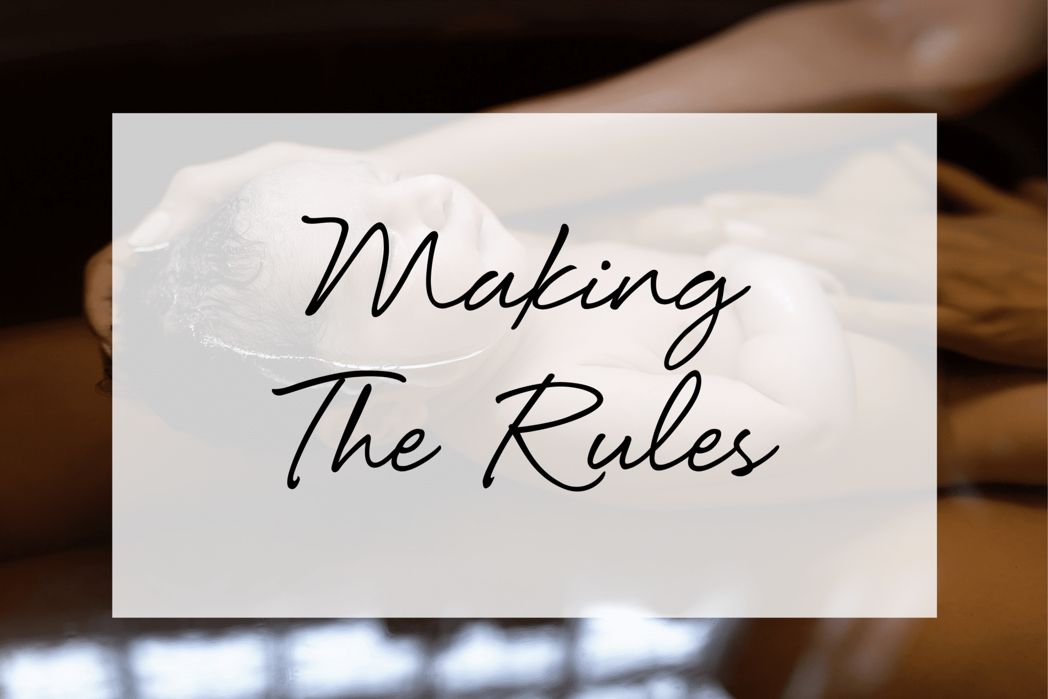 Making The Rules - Masterclass by Leilani Rogers