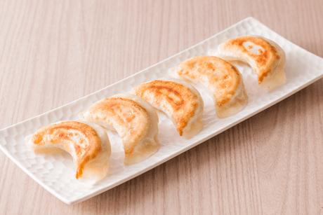 モチモチ手包み焼餃子