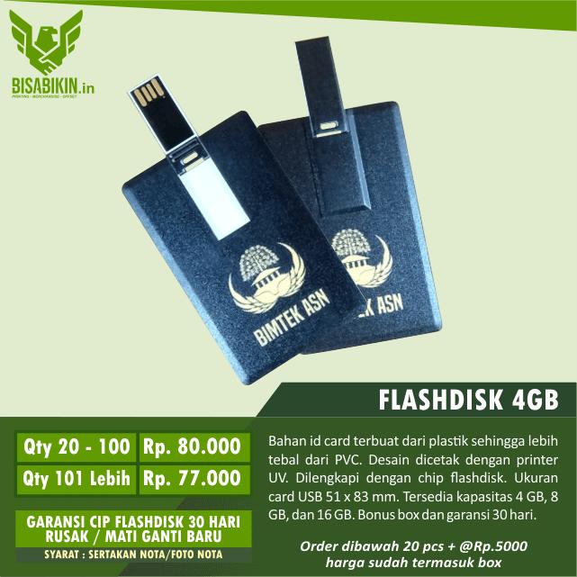 harga flashdisk kartu 4gb