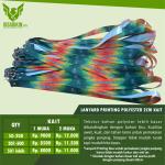 Harga Tali ID Card Printing, Sablon dan Polos Murah