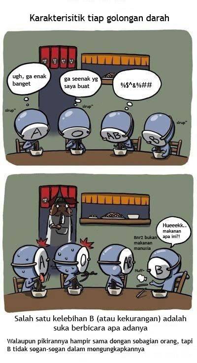Komik Golongan darah 1