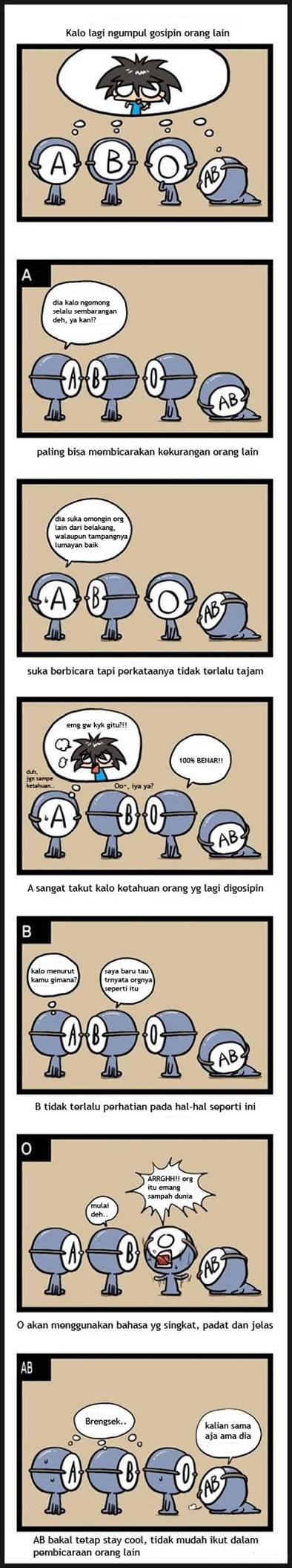 komik golongan darah 5