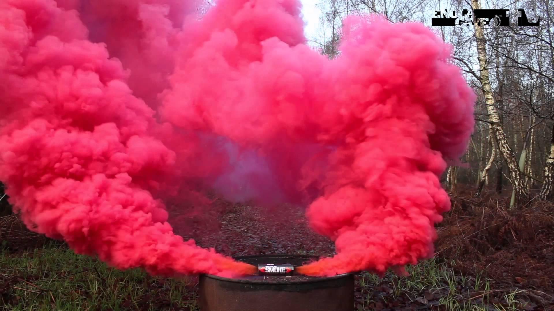 Bom Smoke Background Asap Warna Warni - Mino Gambar