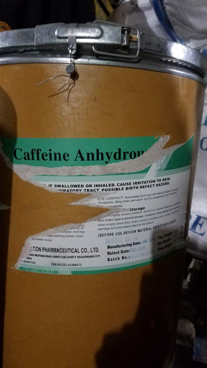 Di jual cepat Caffein Anhydrous