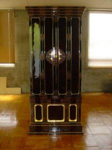 仏壇の洗濯(クリーニング)完成の写真 仏壇前面