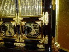 仏壇の洗濯(クリーニング)完成の写真 仏壇の障子