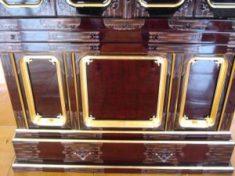 仏壇の洗濯(クリーニング)完成の写真 仏壇の台
