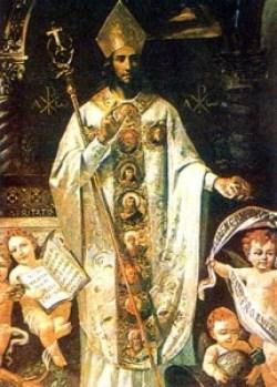 sveti Amand - škof