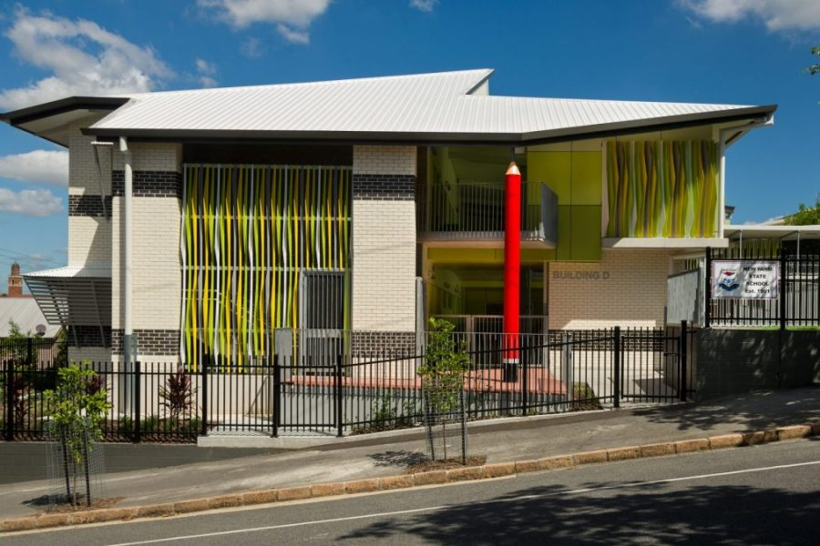 New Farm State School 7 GLA building by biscoe wilson   architects