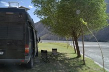 Bivouac on the Pamir Highway