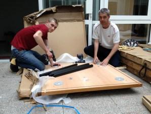 Installation de mobilier professionnel par la Ressourcerie.Pro