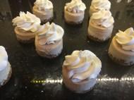 Bitesize cheesecakes