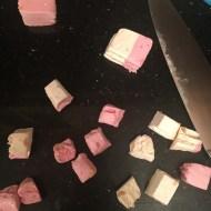 Nougat chopped