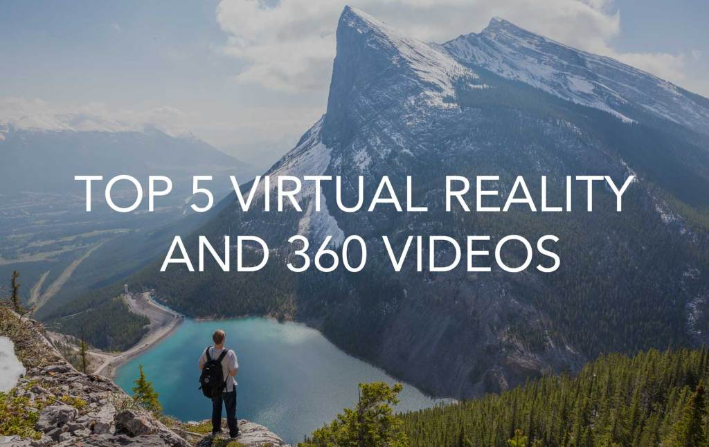 Featured image for article on Top 5 virtual reality and 360 video
