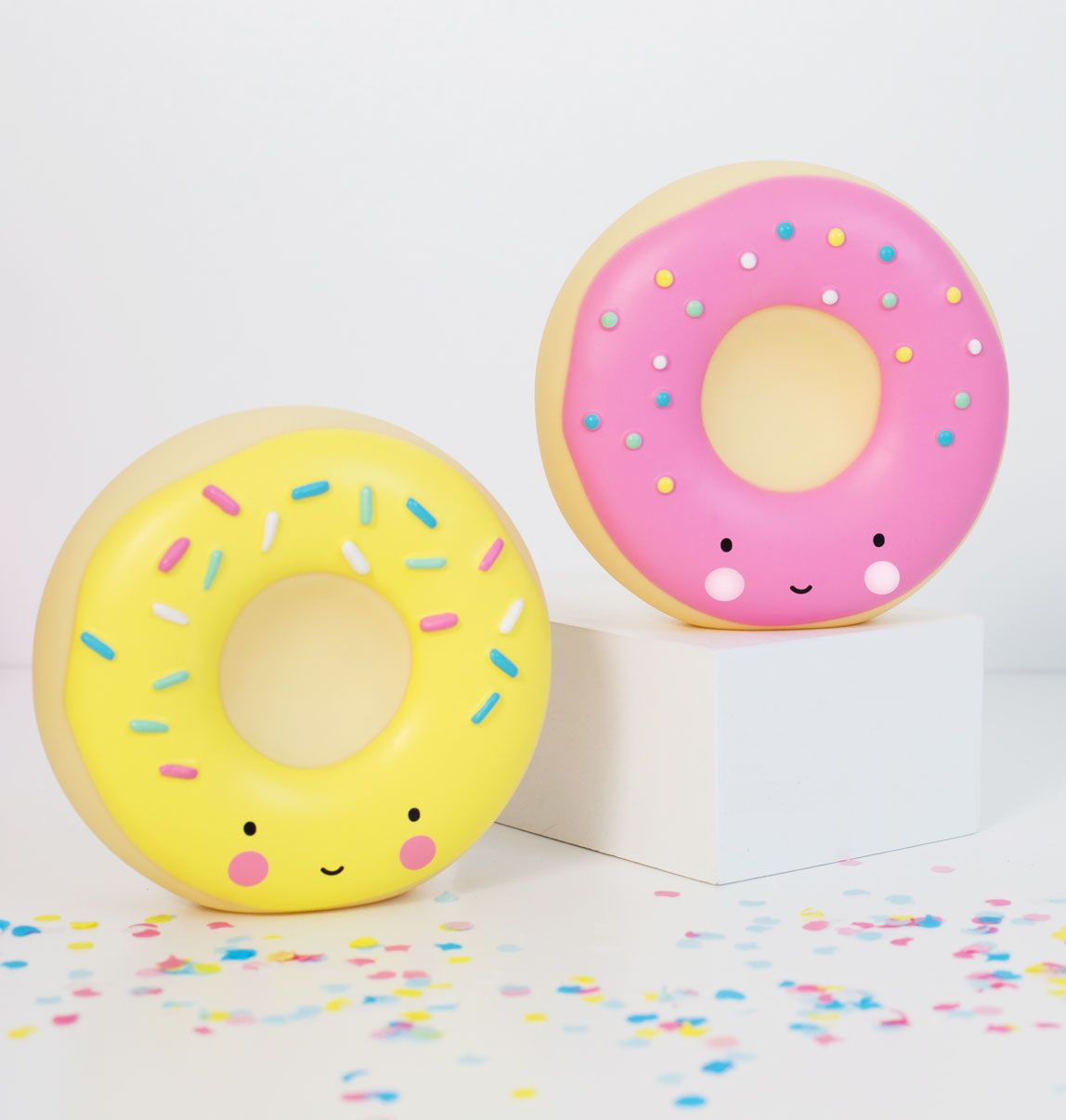 moneyboxe-donut-yellow-pink A Little Lovely Company