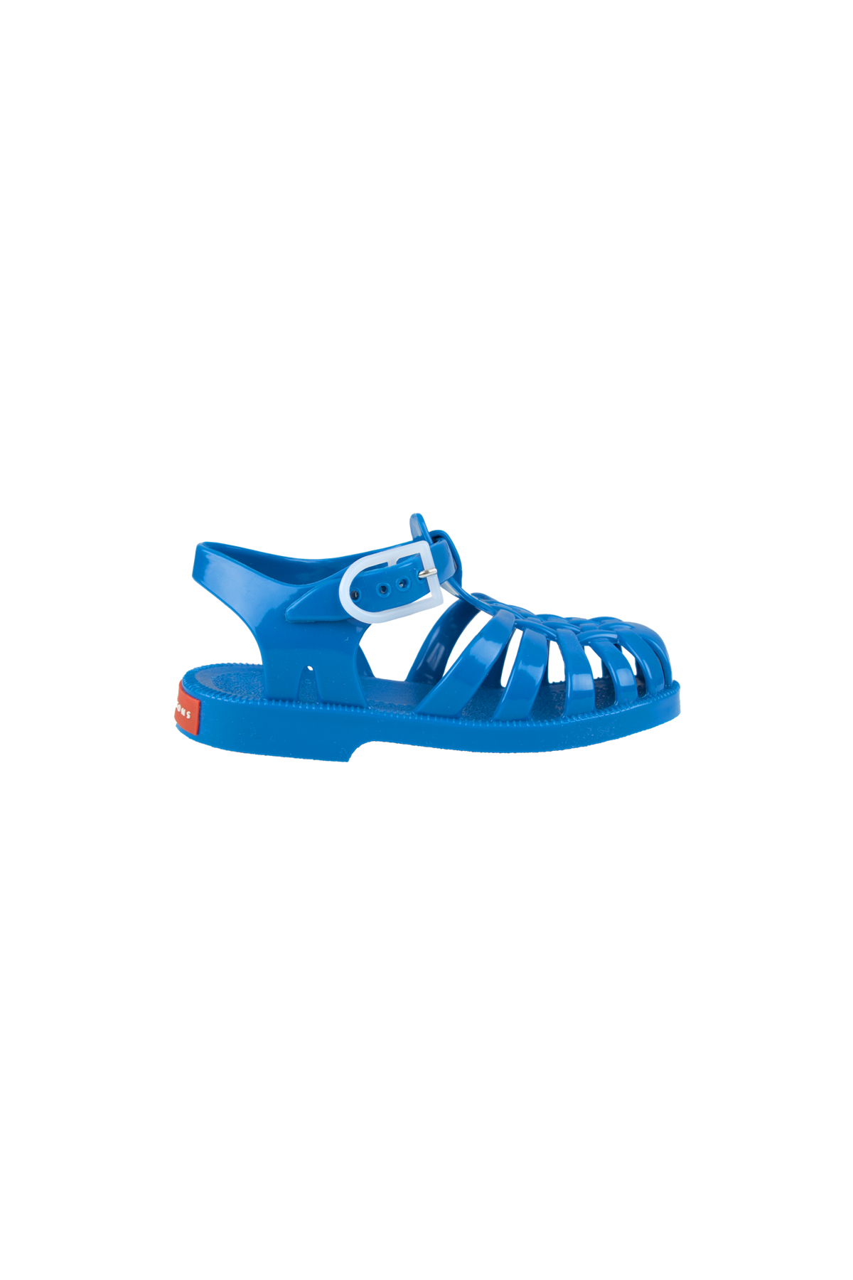 Sandali Ragnetto Bambino Gomma Jelly Blu Tinycottons