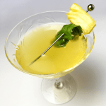 I LOVE this Grilled Pineapple, Basil, and Mezcal cocktail is a fabulous summer sipper that is neither too sweet nor too boozy. Plus, it's well rounded and easy to make!