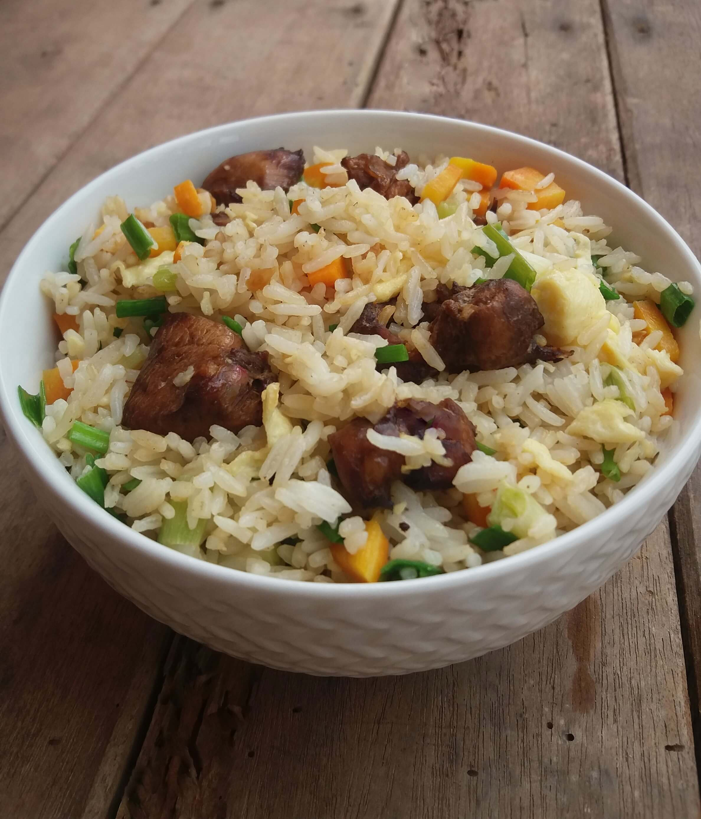 Chicken fried rice biscuits and ladles chicken fried rice or fried rice is the best and cheap way to feed a crowd in my opinion you have a lot going on in this simple dish ccuart Gallery