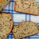Milk chocolate quick bread