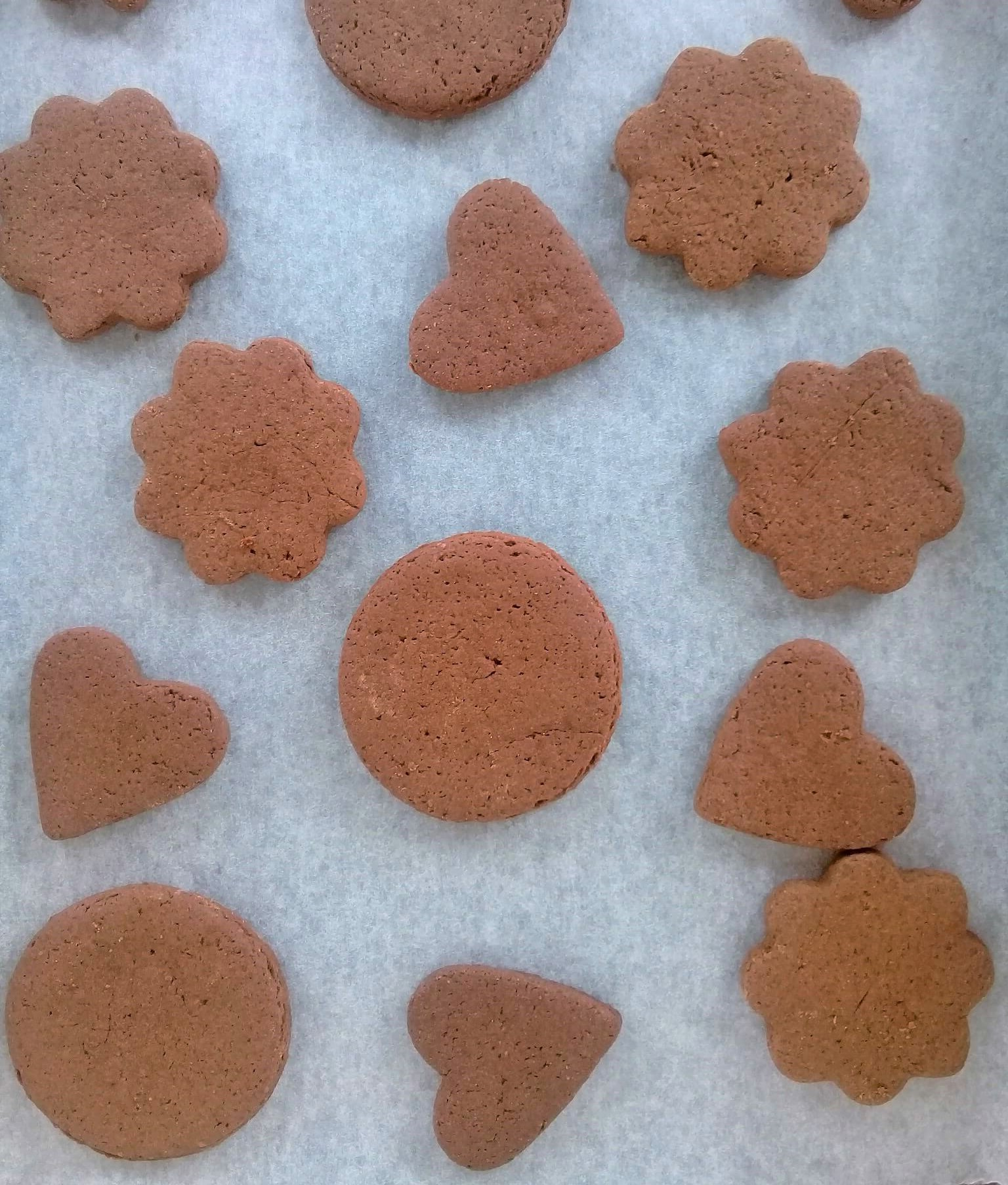 Easy Cut Out Chocolate Cookies Biscuits Cocoa Biscuits