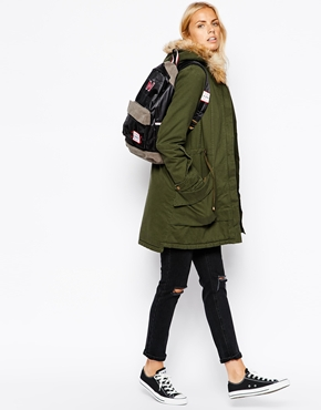 ASOS fall maternity coat