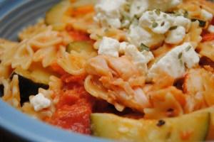 Lobster tarragon pasta