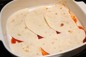 4 Mexican lasagna step 1