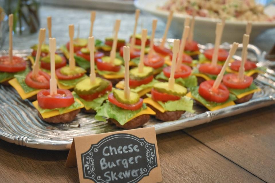 cheeseburger-skewers