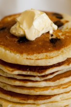 Chocolate Chip Pancakes Stack
