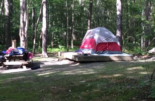 Camping is such fun!