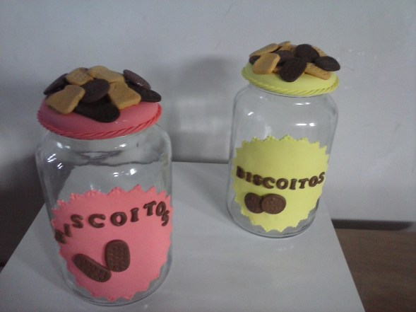 Potes para biscoito
